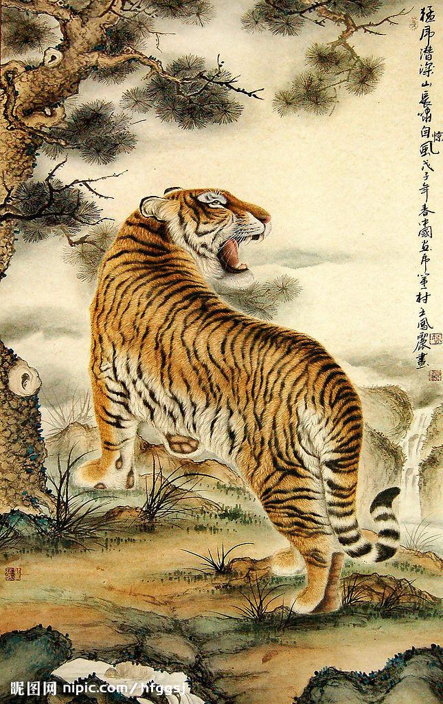 เสือ-จีน