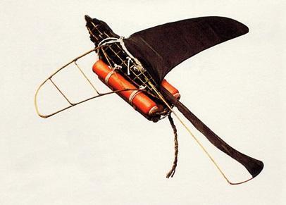 นกไฟ-นกบินด้วยประทัด