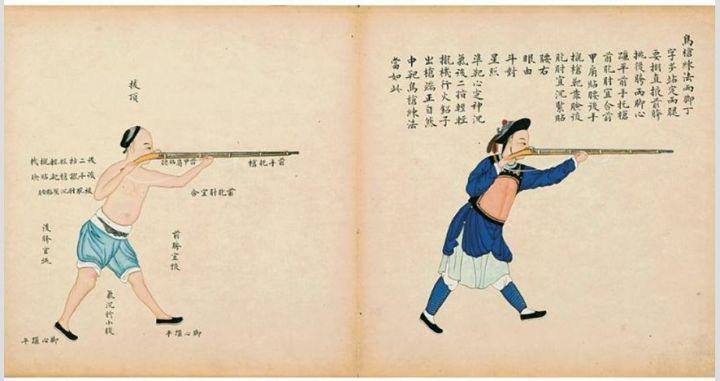 นักรบจีนโบราณกับปืนไฟ-ปืนไฟจีน